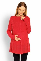 Sweter Ciążowy Model 40005C Coral