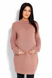 Sweter Ciążowy Model 40009C Cappuccino