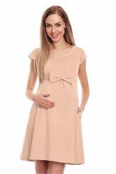 Sukienka Ciążowa Model 0129 Beige