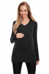 Sweter Ciążowy UNI 70024 czarny