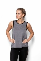 Koszulka damska S-L Fitness ABEL szara