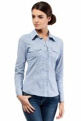 Koszula MOE019 Blue