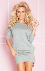 Sukienka Model 64-5 Mirela Light Grey