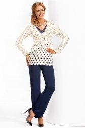 Piżama Damska Model Sonia Cream