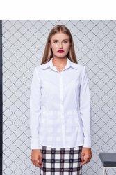 Bluzka o klasycznym fasonie GR1166 White