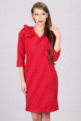 Sukienka wizytowa model 660b Red