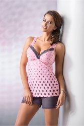 Piżama Damska Model Sonia 1/2 Pink