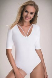 Body damskie XL DAGMAR White
