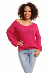 Sweter model 30047 Fuchsia