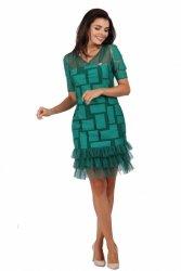 Sukienka wizytowa model 884a green