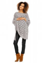 Poncho model 30012C Light Gray