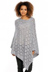 Poncho model 30012 Light Gray