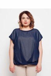 Elegancka eteryczna damska bluzka TR1831 Szafirowy