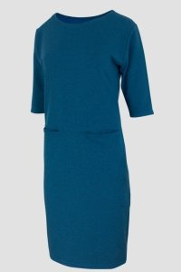 Sukienka dresowa D-030 Blue Melange