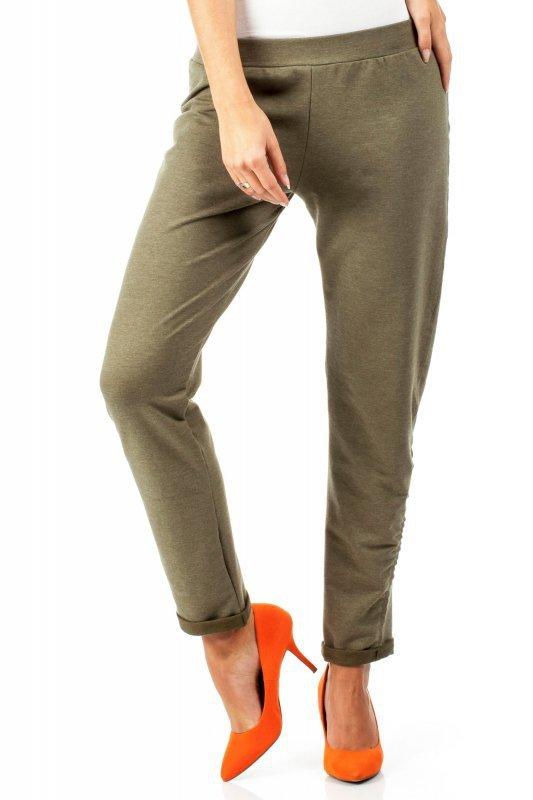 Spodnie dresowe MOE055 Khaki