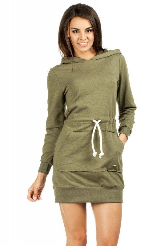 Sukienka Model MOE116 Khaki