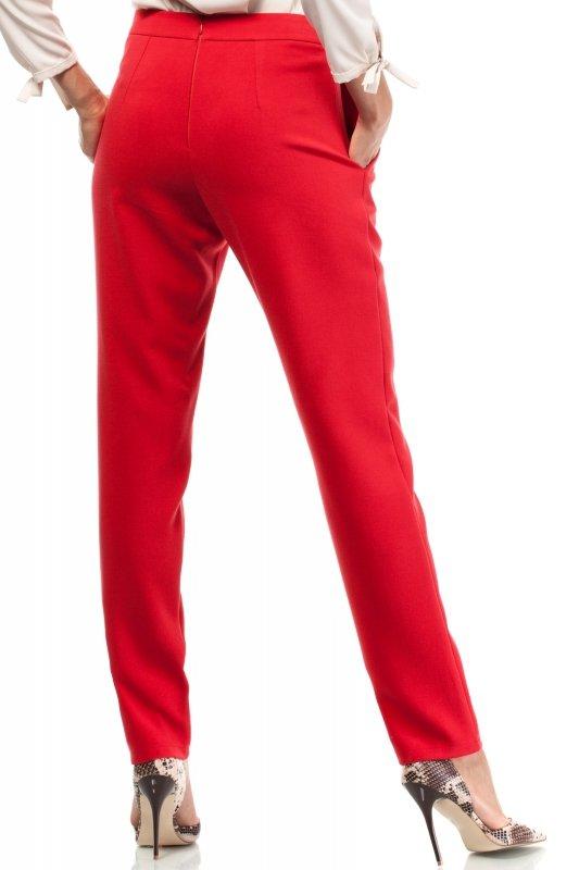 Spodnie-Damskie-Model-MOE195-Red-tyl