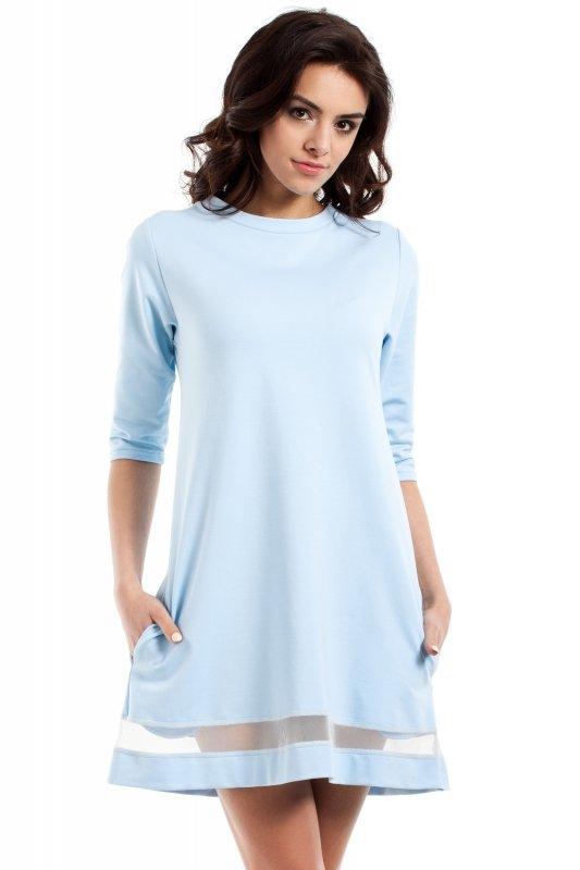 Sukienka Model MOE219 Sky Blue