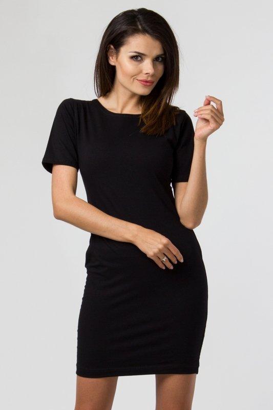 Sukienka dzianinowa M-034 Black