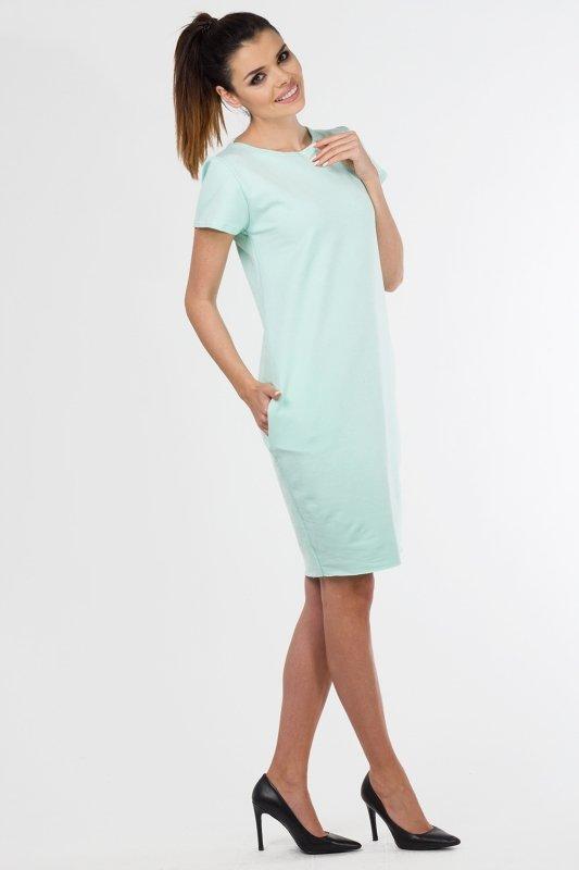 Sukienka-dzienna-PLUS-SIZE-40-54-dzianina-dresowa-MIETOWA-D-021-duze-rozmiary-do-biura