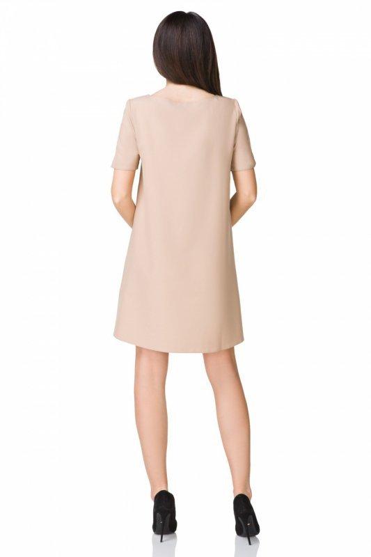 Sukienka model T203/2 Beige
