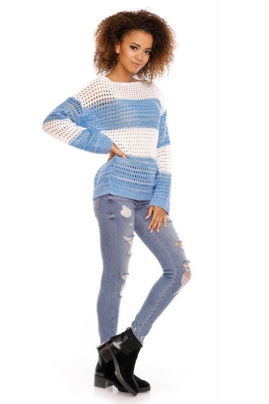 Sweter model 70002 Jeans