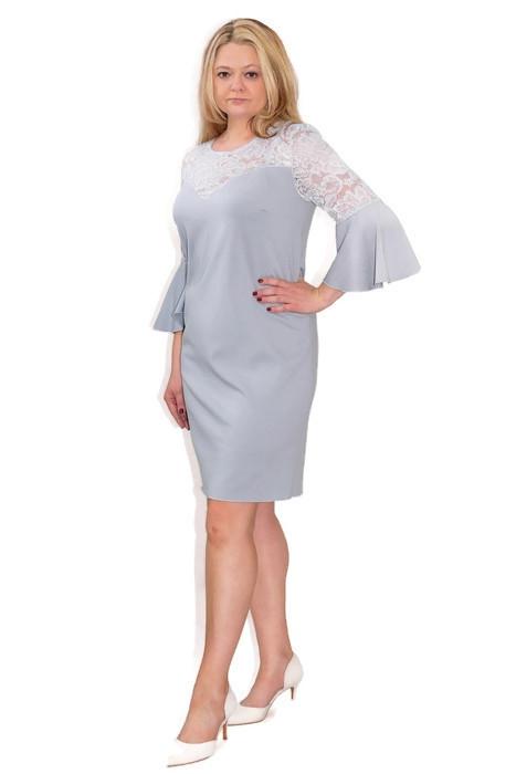 Elegancka-sukienka-xl-XXL-dla-puszystych-40-60-na-wesele-chrzest-komunia-PAOLA-jasny-popie-szara-bok