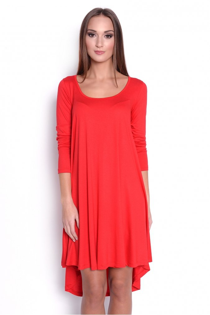 sukienka-plus-size-dla-puszystych-dzienna-tunika-MAJORKA-s-m-l-xl-xxl-xxxl-asymetryczna-czerwona