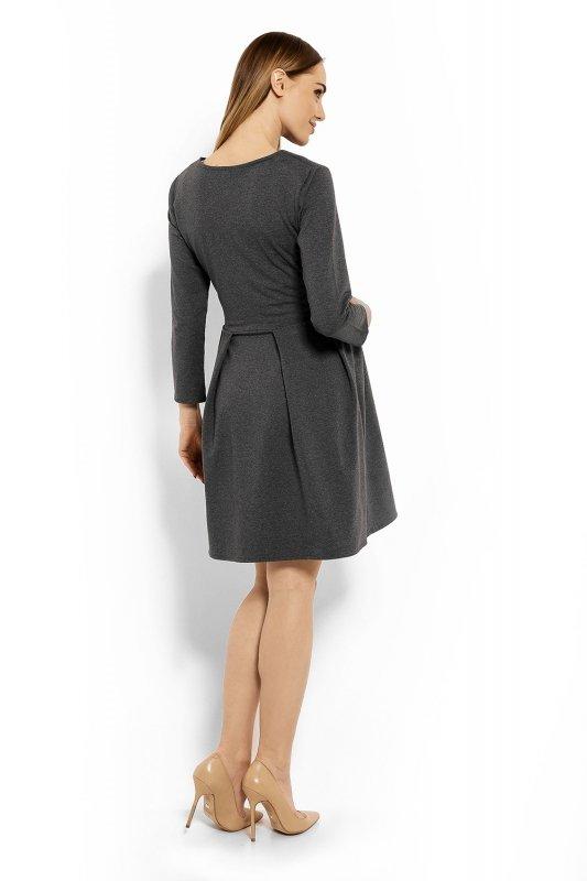 Sukienka-Ciazowa-Model-1628C-Grafit-odziez-ciazowa-tyl