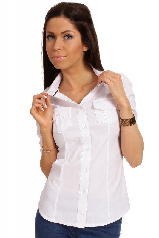 Koszula MOE027 White