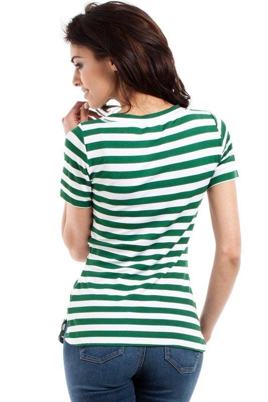 T-shirt Damski Model MOE171 Green