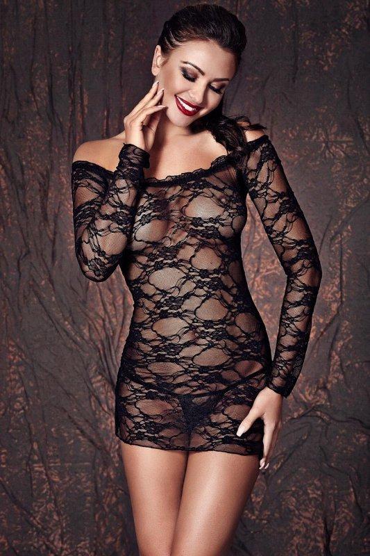Koszulka-erotyczna-damska-plus-size-dla-puszystych-xl-xxl-LYNETTE-XL-6XL-czarna-seksowna-prezent-dla-kobiety-na-swieta-bozego-narodzenia