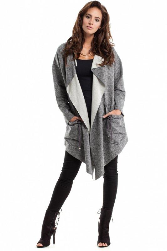 Sweter Damski Model MOE262 Grey Melange