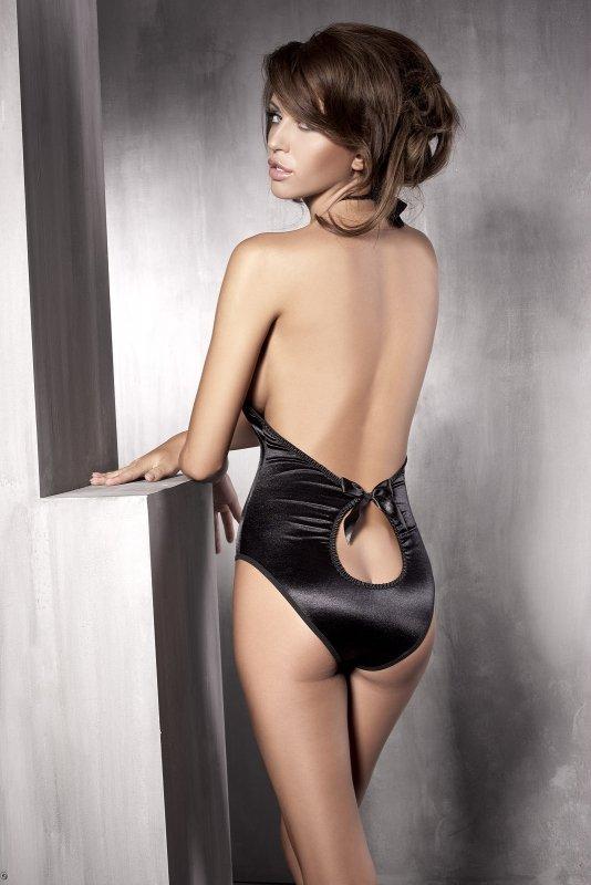 Body erotyczne L-XXX plus size INSPIRATION czarne