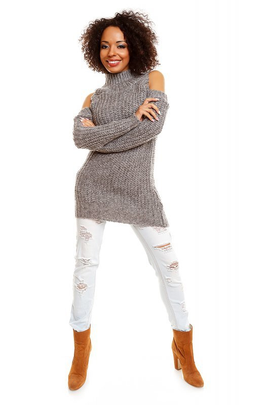 Sweter model 30040 Gray