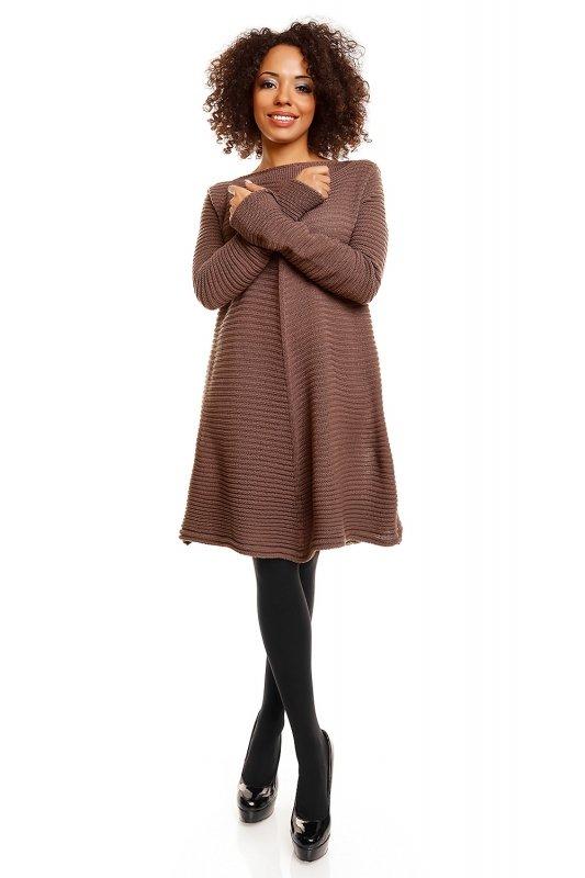 Sukienka model 30046 Cappuccino