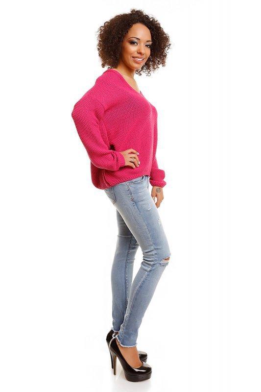 Sweter model 30047 Fuchsia