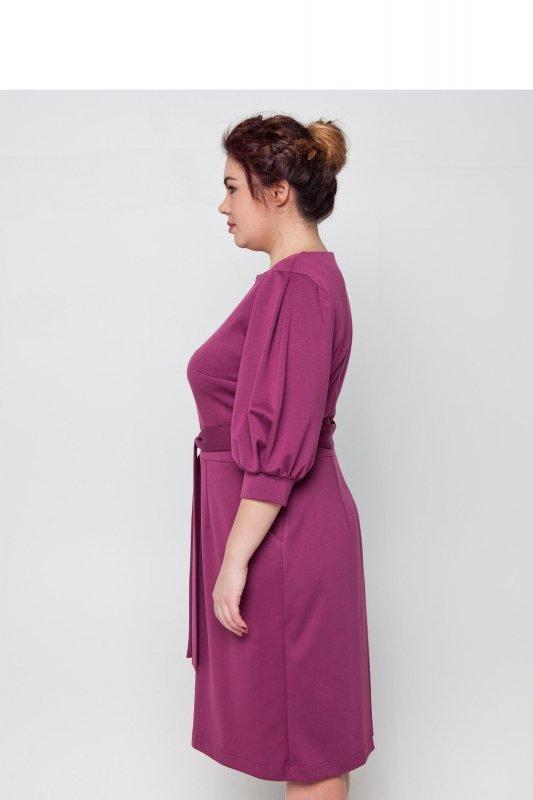 Elegancka sukienka dla puszystej 46 LILIA
