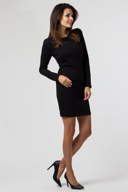Sukienka dzianinowa M-033 Black