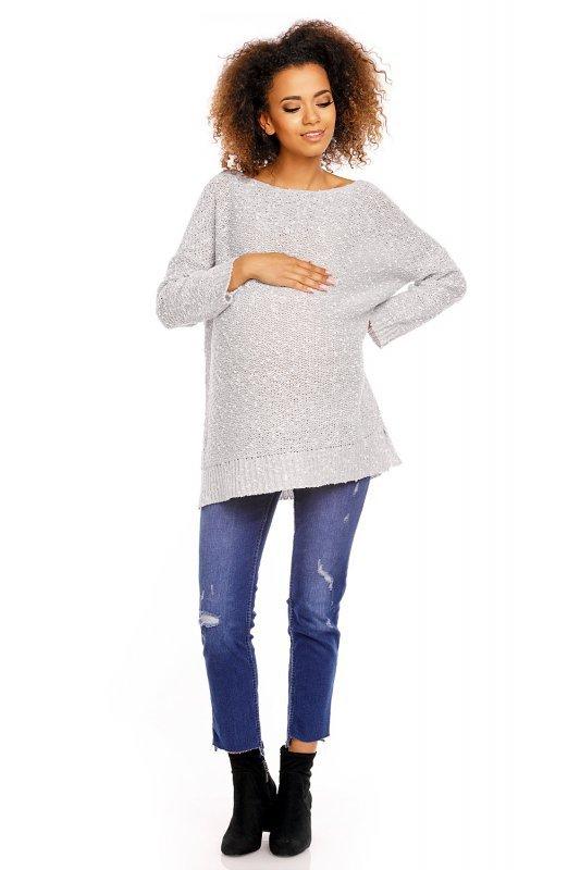 Sweter model 70005C Gray