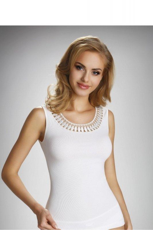 Bluzka Model Olinea Ecru