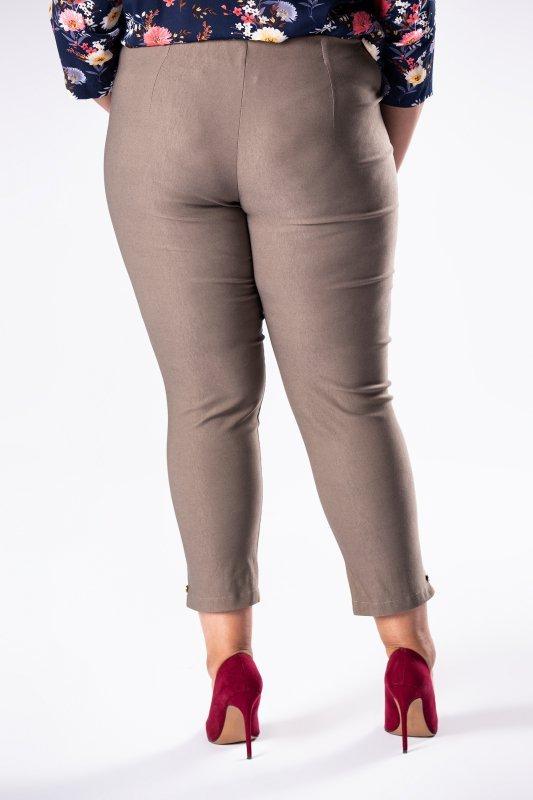 Spodnie-damskie-plus-size-dla-puszystych-xl-xxl-LENA-z-wysokim-stanem-dluga-nogawka-do-biura-chrzest-komunia-bierzmowanie-szare-tyl