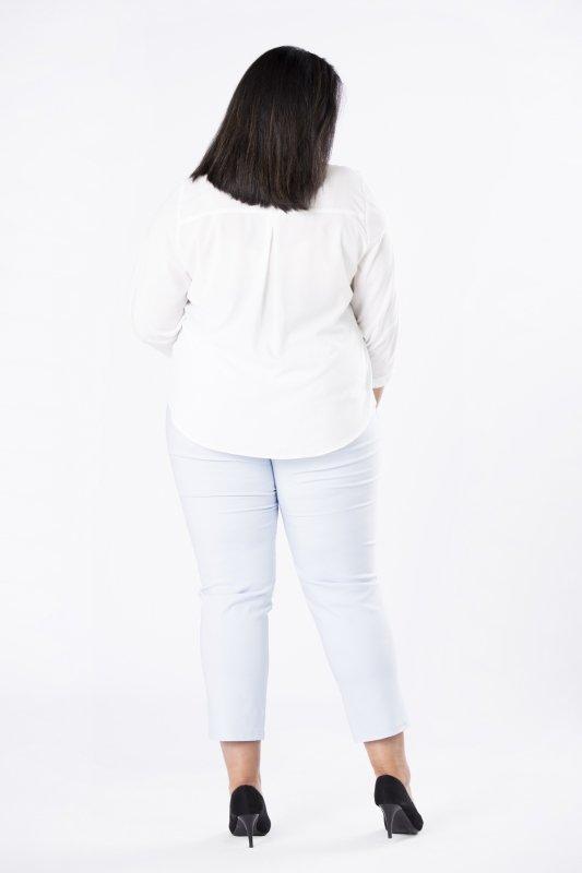 Elegancka-bluzka-plus-size-xl-xxl-AURORA-o-koszulowym-kroju-z-fontaziem-kremowa-tyl