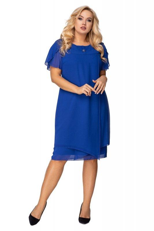 Elegancka sukienka TAMIRA tiulowa