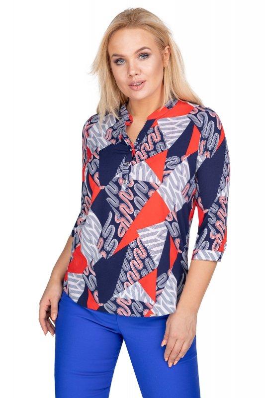 Bluzka-damska-plus-size-dla-puszystych-AGATA-xl-xxl-o-koszulowym-kroju-z-dekoltem-w-serek