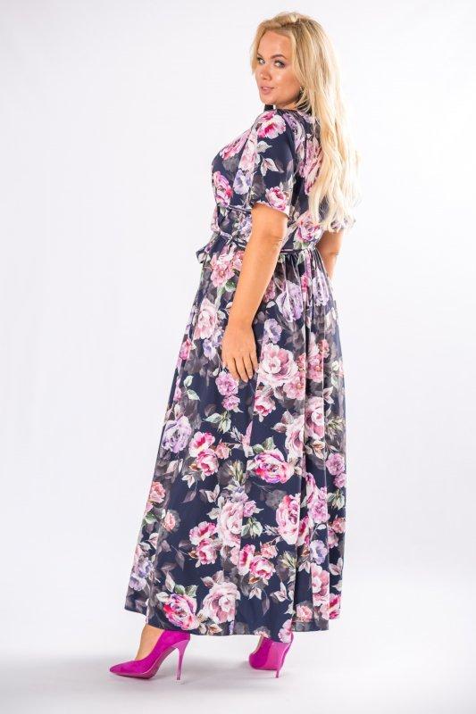 Sukienka maxi IGA kwiaty długa