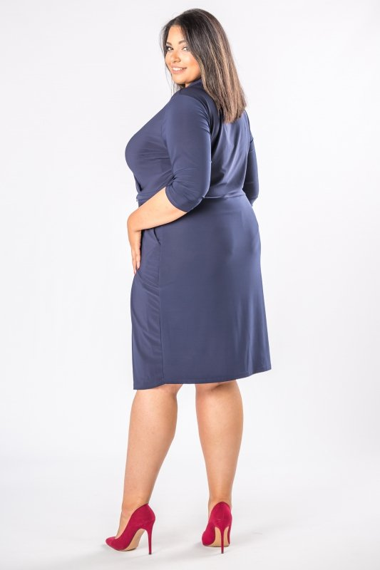 Sukienka kopertowa plus size DESIRE