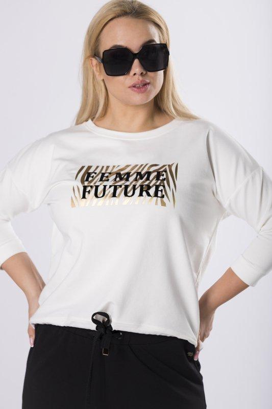 Bluza MIA2 z połyskującym nadrukiem