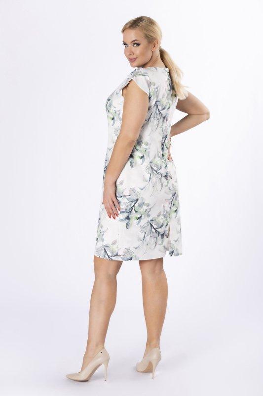 Sukienka DOLORES w kwiatowy wzór