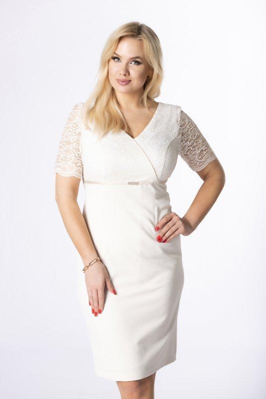 Elegancka sukienka KENDER ołówkowa